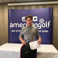 Surbiton junior golfer Elliot MacGregor