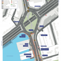 Proposed changes to the (A3) Tolworth Road - Kingston Road junction